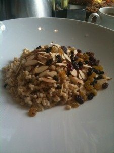 This oatmeal dare I say...was even tastier than mine! The trick is using the whole oat groat
