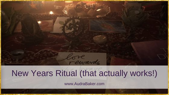 New Years Ritual (that actually works!)